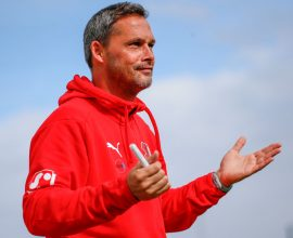 Frank Döpper Co-Trainer TSV Steinbach Haiger gegen die FK Pirmasens
