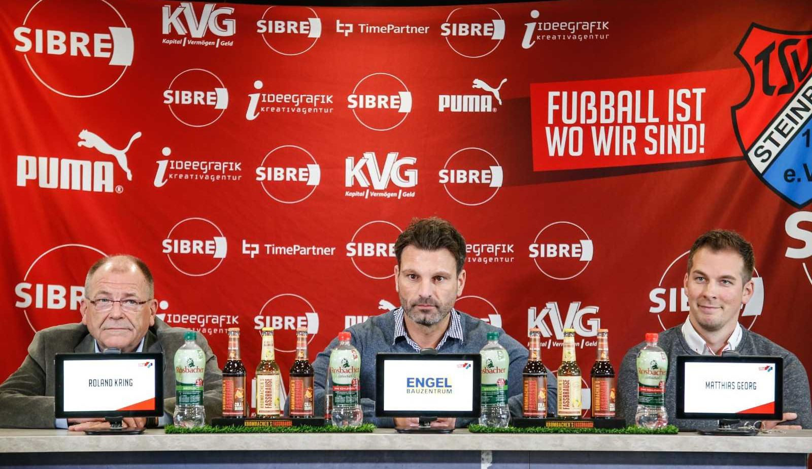 Roland Kring.Adrian Alipour.Matthias Georg TSV Steinbach Haiger. Nick Fingerhut