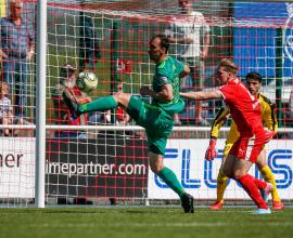 Timo Kunert TSV Steinbach Haiger FC Homburg Nick Fingerhut