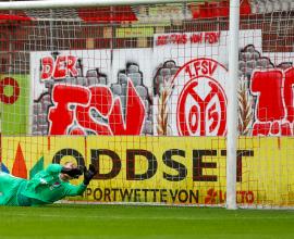 Tim Paterok TSV Steinbach Haiger 1.FSV Mainz 05 U23 Björn Franz Sandro Loechelt