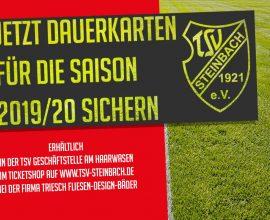 TSV Steinbach Haiger Dauerkarte