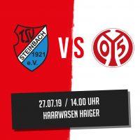 Spielankündigung TSV Steinbach Haiger - 1. FSV Mainz 05 U23