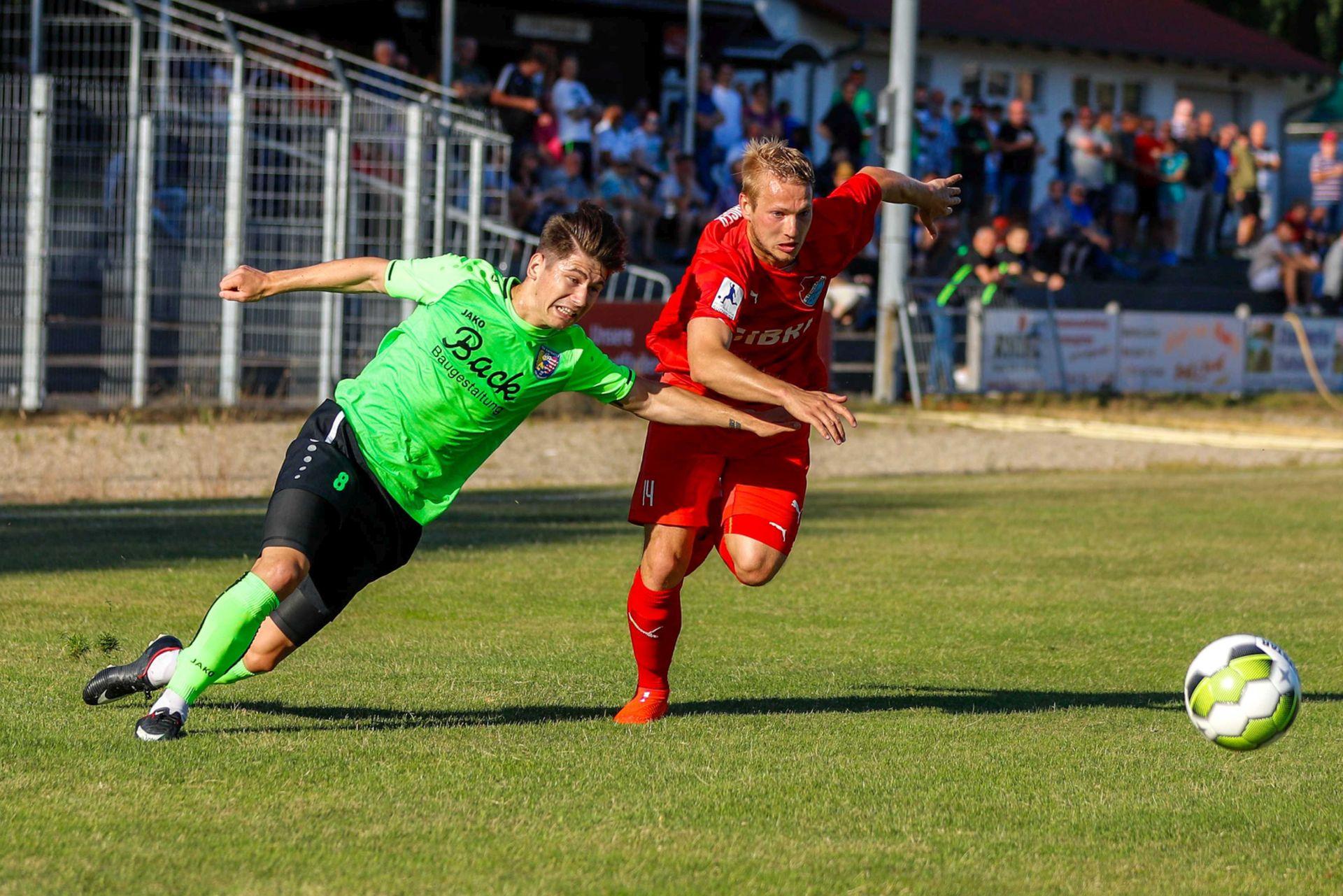 Philipp Hanke TSV Steinbach Haiger Eintracht Stadtallendorf