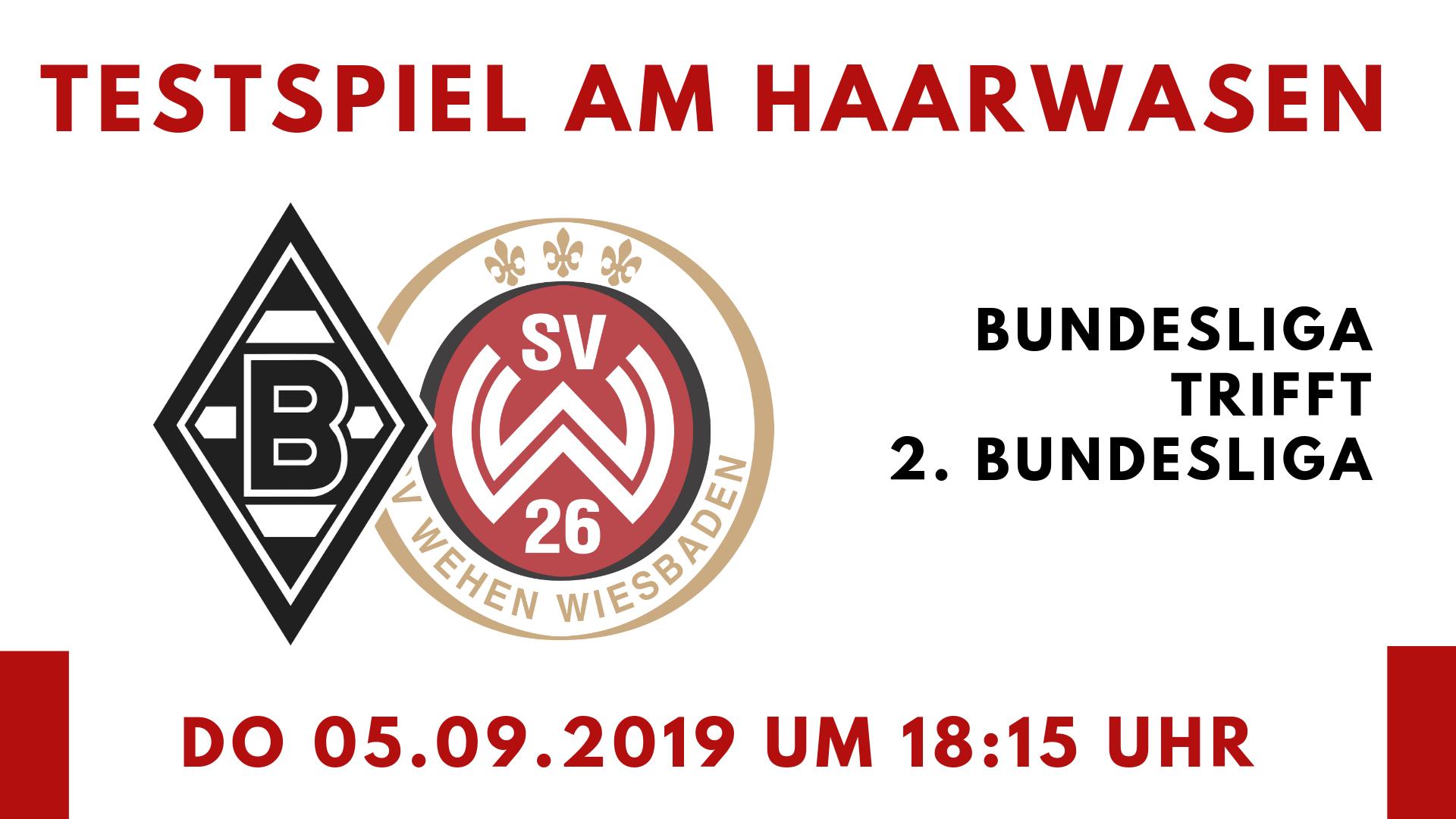 Borussia Mönchengladbach SV Wehen Wiesbaden