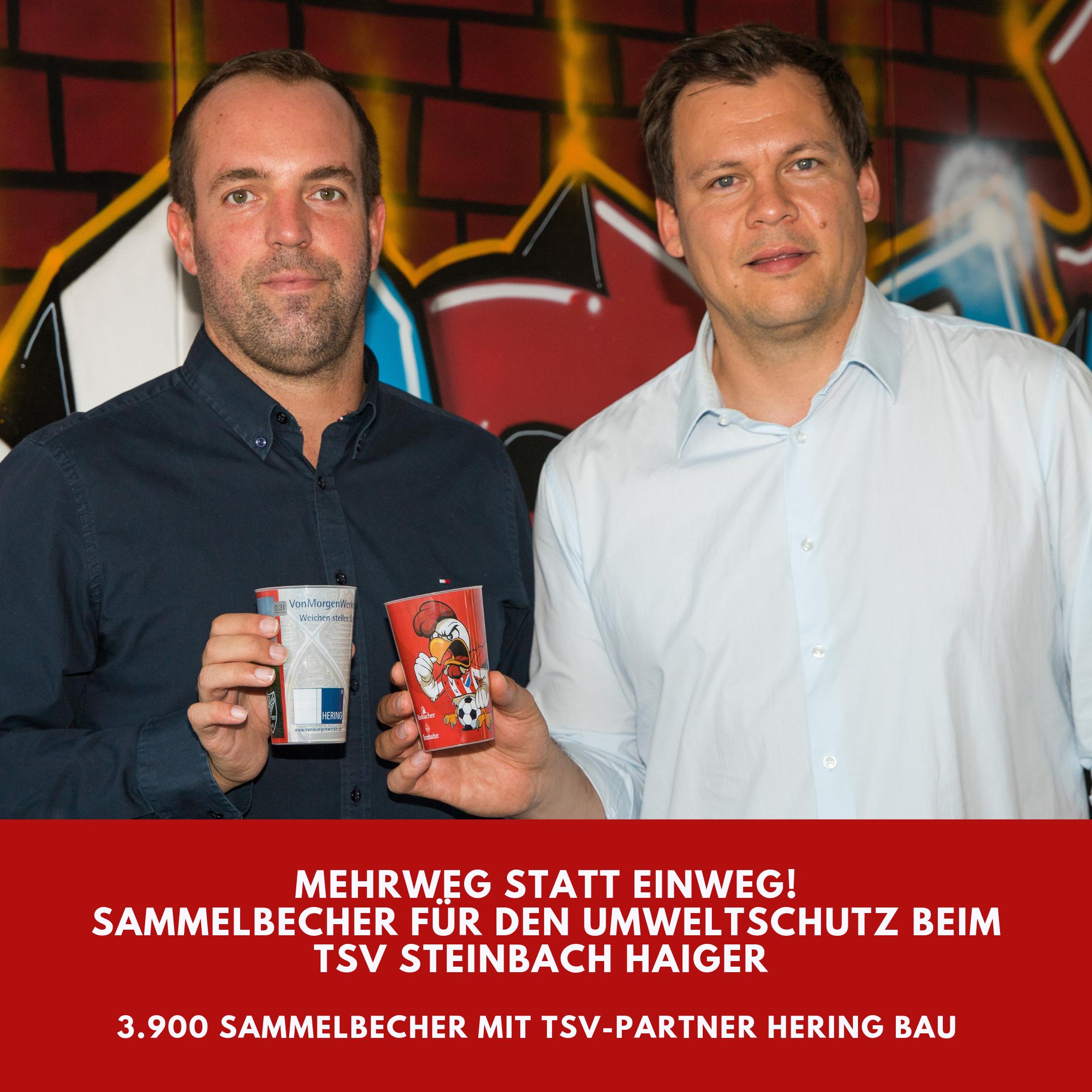 Hering Bau und TSV Steinbach Haiger