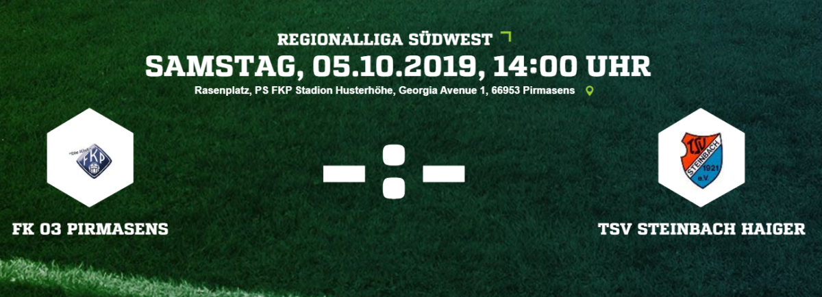 Liveticker FK Pirmasens - TSV Steinbach Haiger
