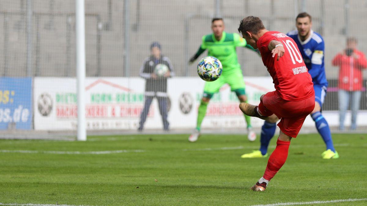 Manuel Hoffmann trifft zum 0:1