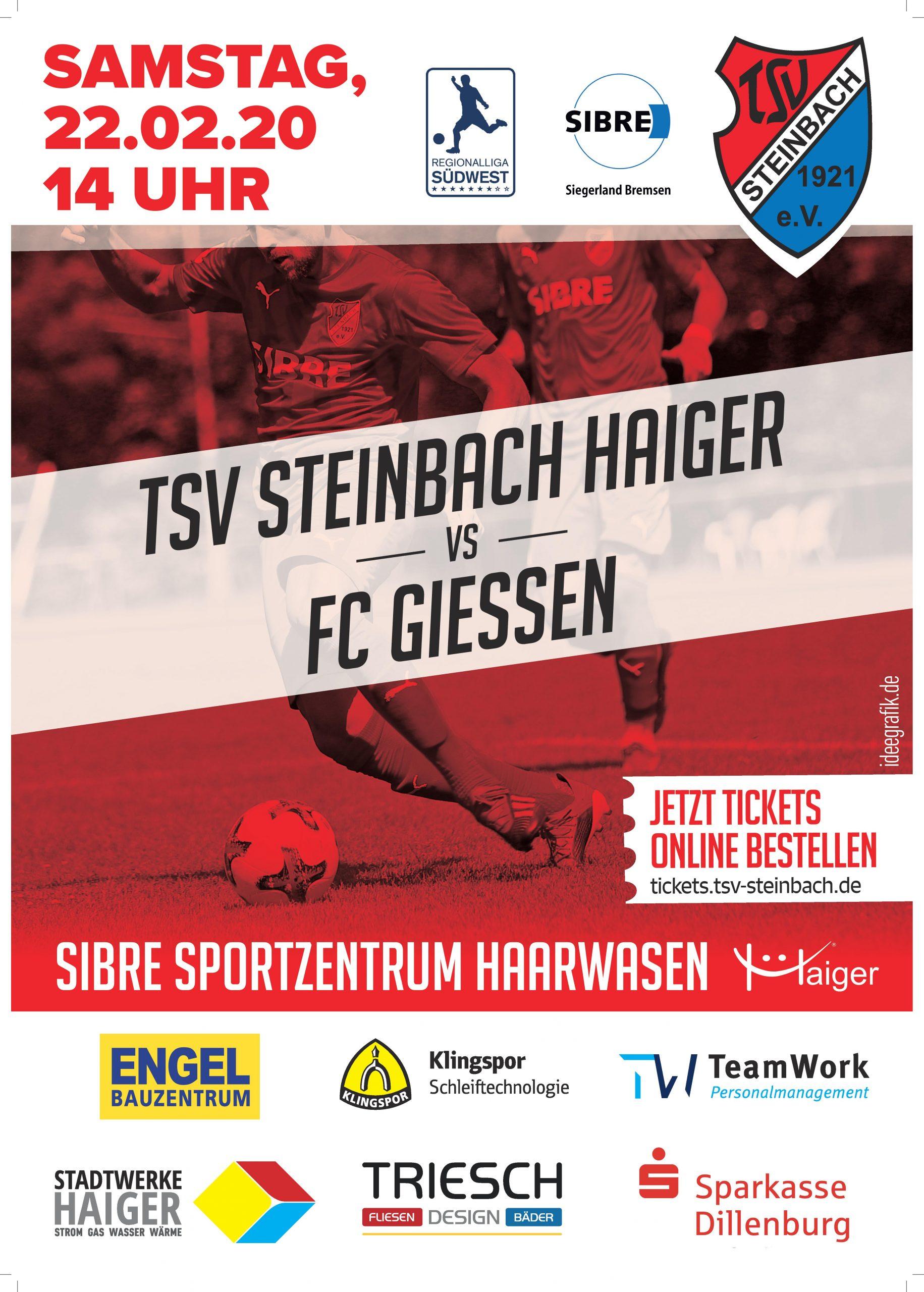 Plakat FC Gießen