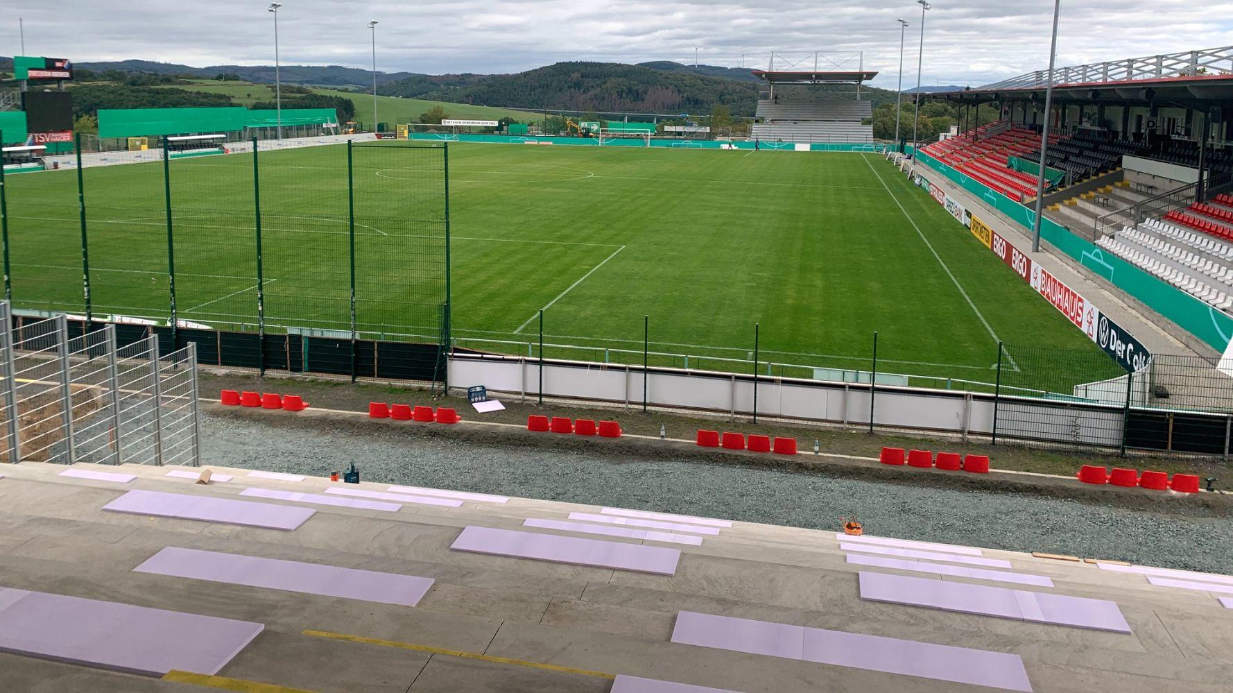 TSV Steinbach Haiger erhöht Zuschauerkapazität: Rund 200 weitere Karten erhältlich