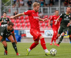 Sascha Marquet (TSV Steinbach) - TSV Steinbach vs. Mainz 2 am 27.07.2019 (Foto: Fingerhut)