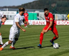TSV Steinbach Haiger gegen SV Sandhausen 1:2 (DFB-Pokal)