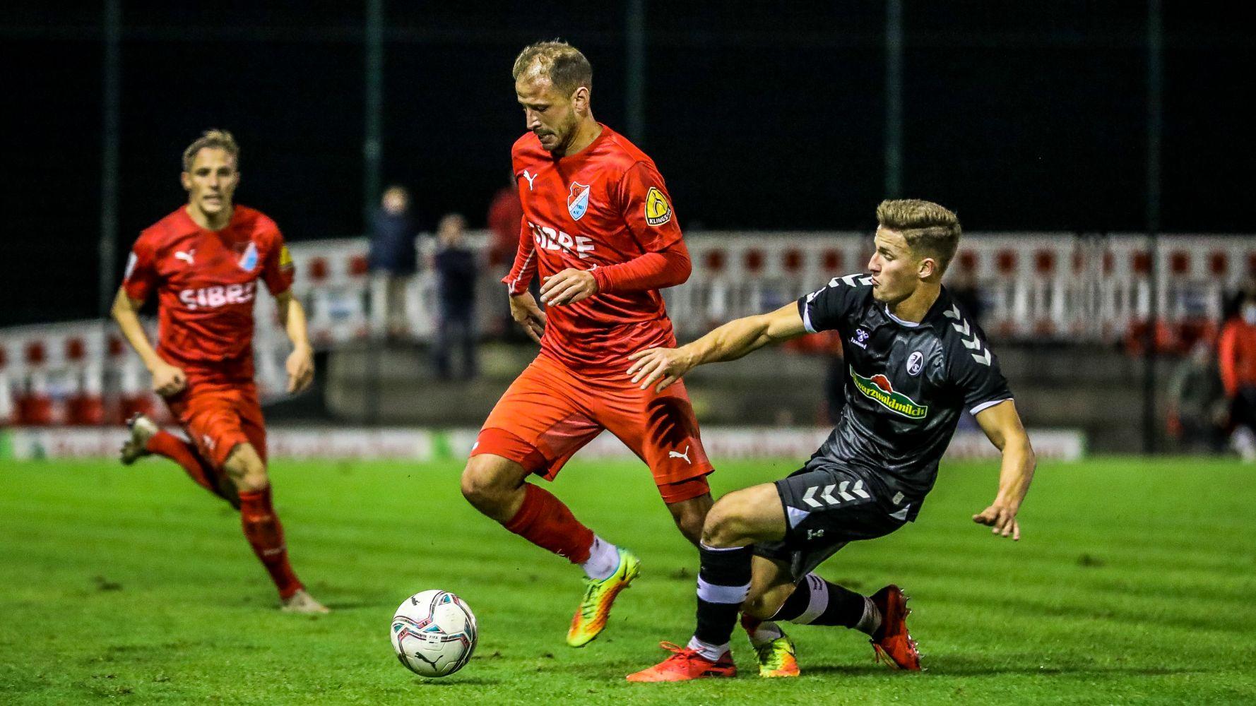 Bisanovic Freiburg TSV Steinbach Haiger HP