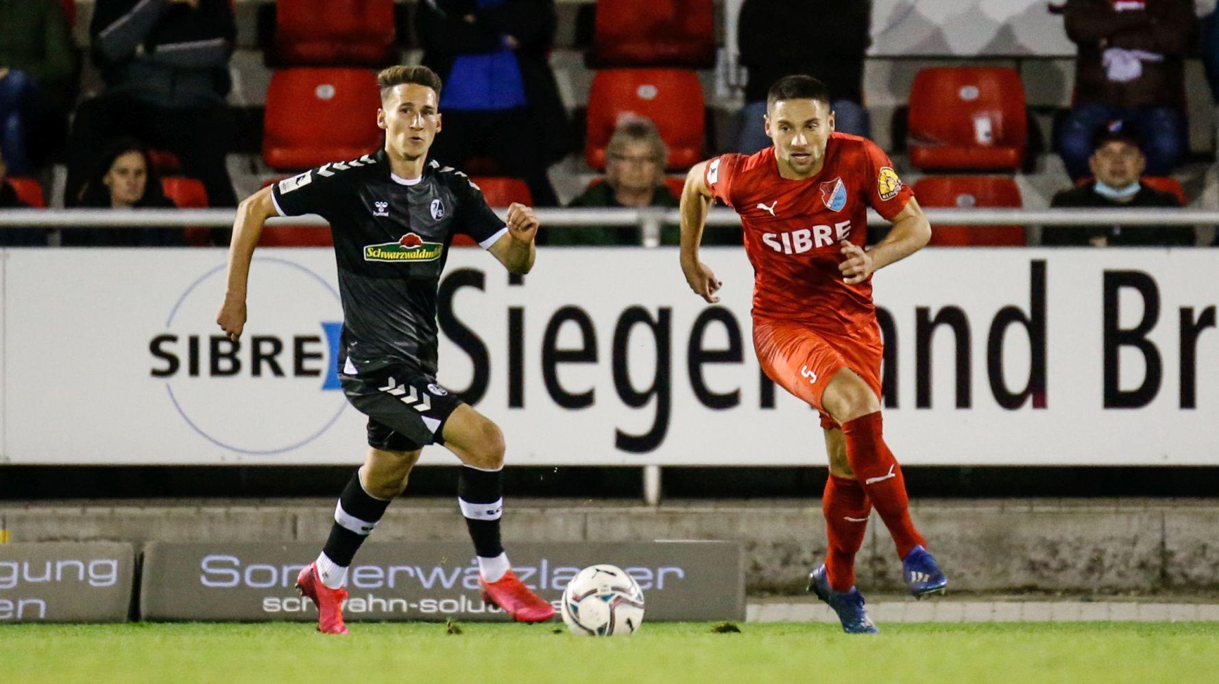 - TSV Steinbach vs. Freiburg 2 am 21.10.2020 (Foto: Fingerhut)