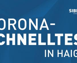 Corona-Schnelltest in Haiger