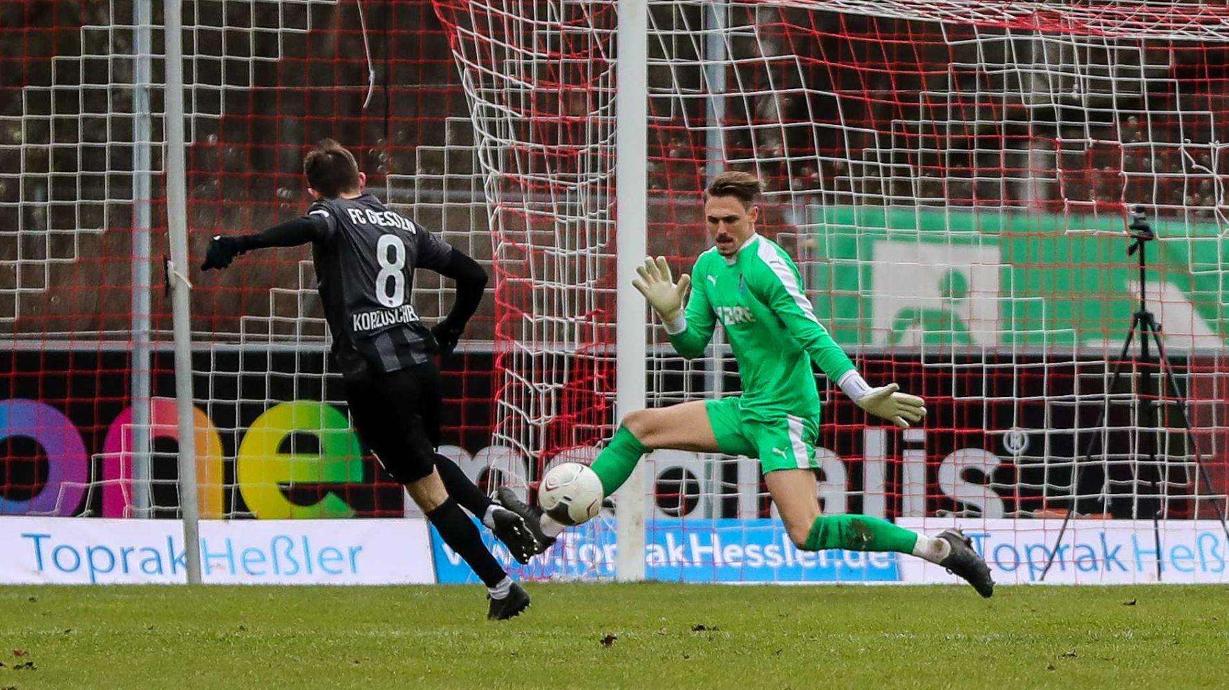 Tim Paterok TSV Steinbach Haiger FC Gießen Björn Franz