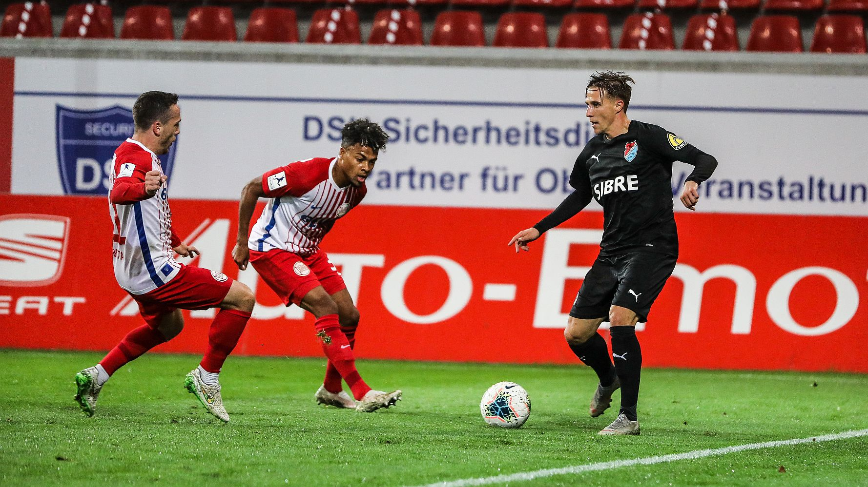 Florian Bichler TSV Steinbach Haiger Kickers Offenbach Björn Franz