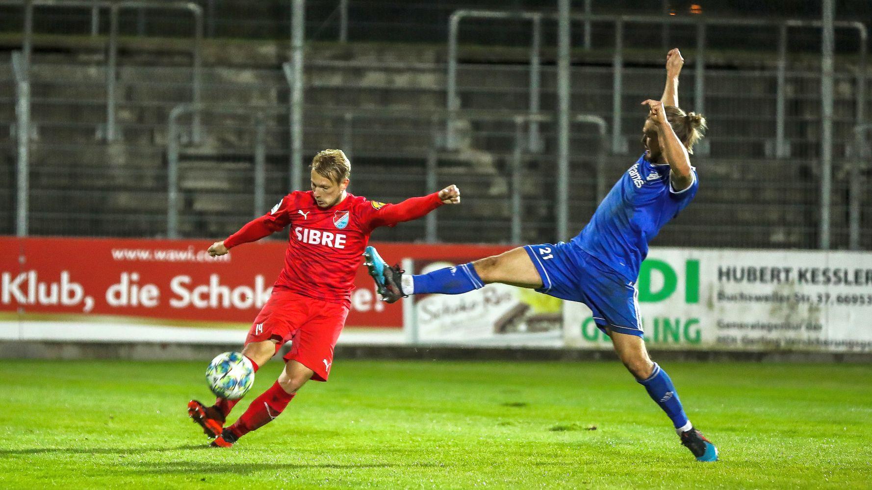 Philipp Hanke FK Pirmasens TSV Steinbach Haiger Björn Franz