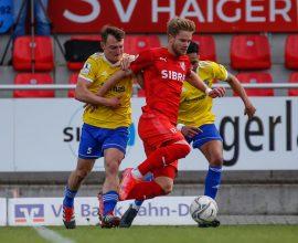 Sascha Marquet TSV Steinbach Haiger FK Pirmasens Nick Fingerhut