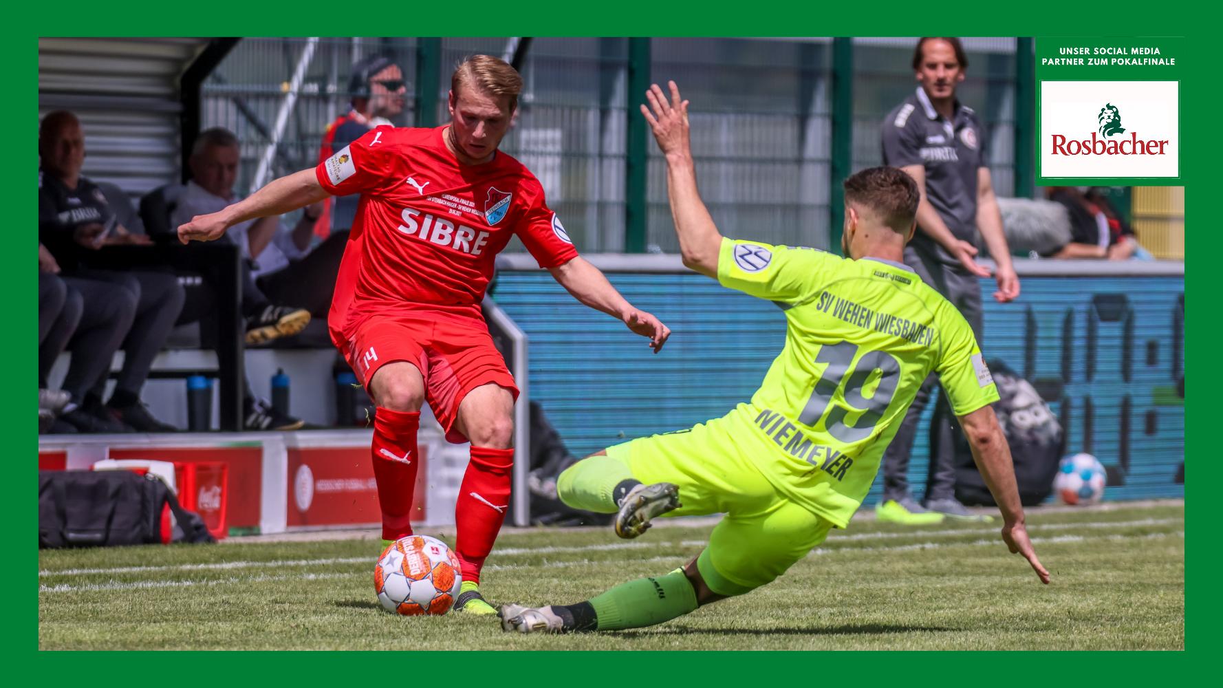 Philipp Hanke TSV Steinbach Haiger Hessenpokal SV Wehen Wiesbaden Nick Fingerhut