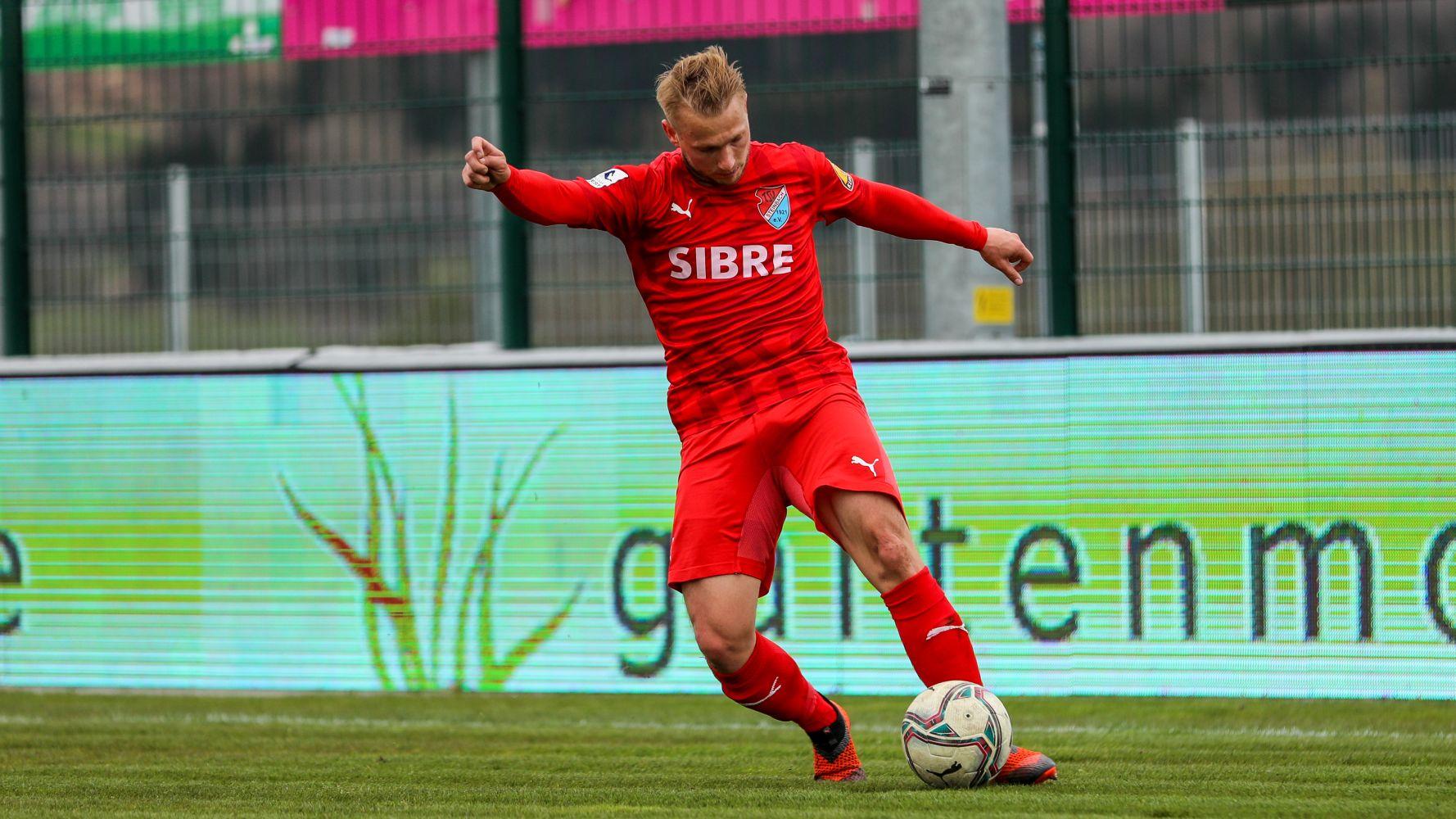 Philipp Hanke TSV Steinbach Haiger Wuppertaler SV Björn Franz