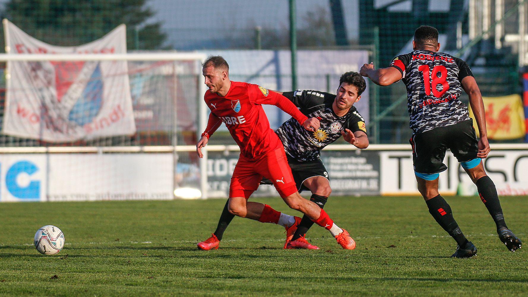 Dino-Bisanovic-TSV-Steinbach-Haiger-TuS-Rot-Weiß-Koblenz-Nick-Fingerhut