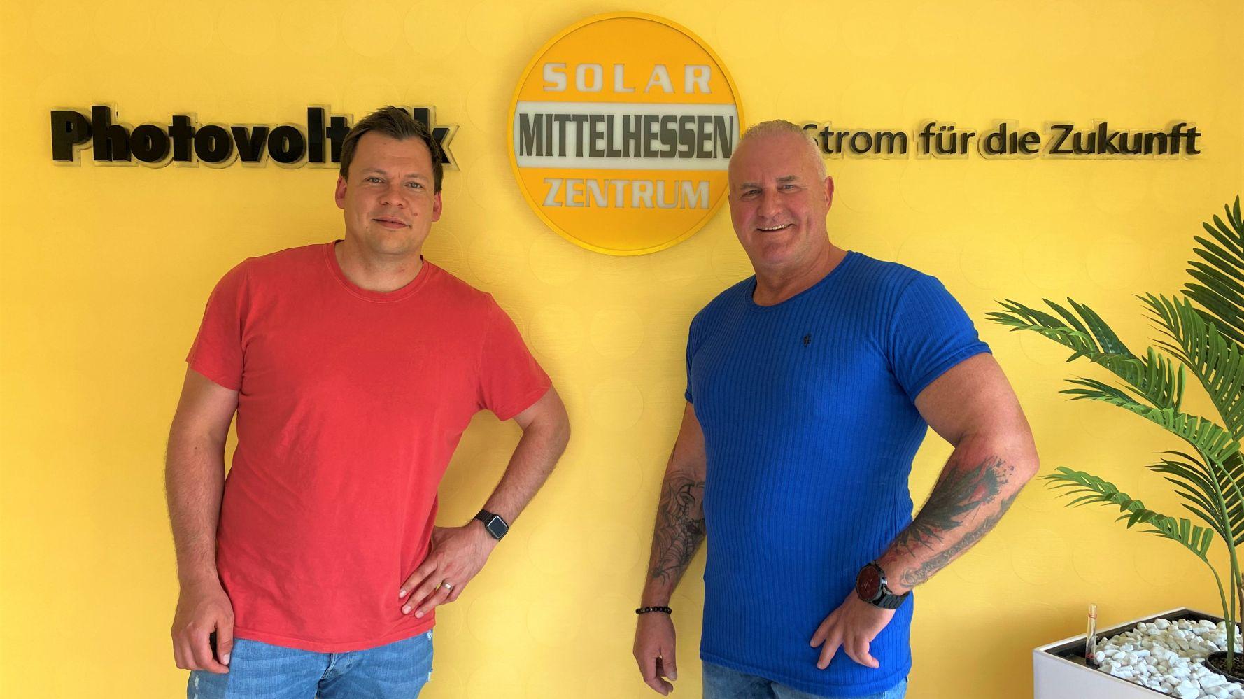 Freuen sich auf die Zusammenarbeit: Arne Wohlfarth (l.) und Frank Luckenbach.