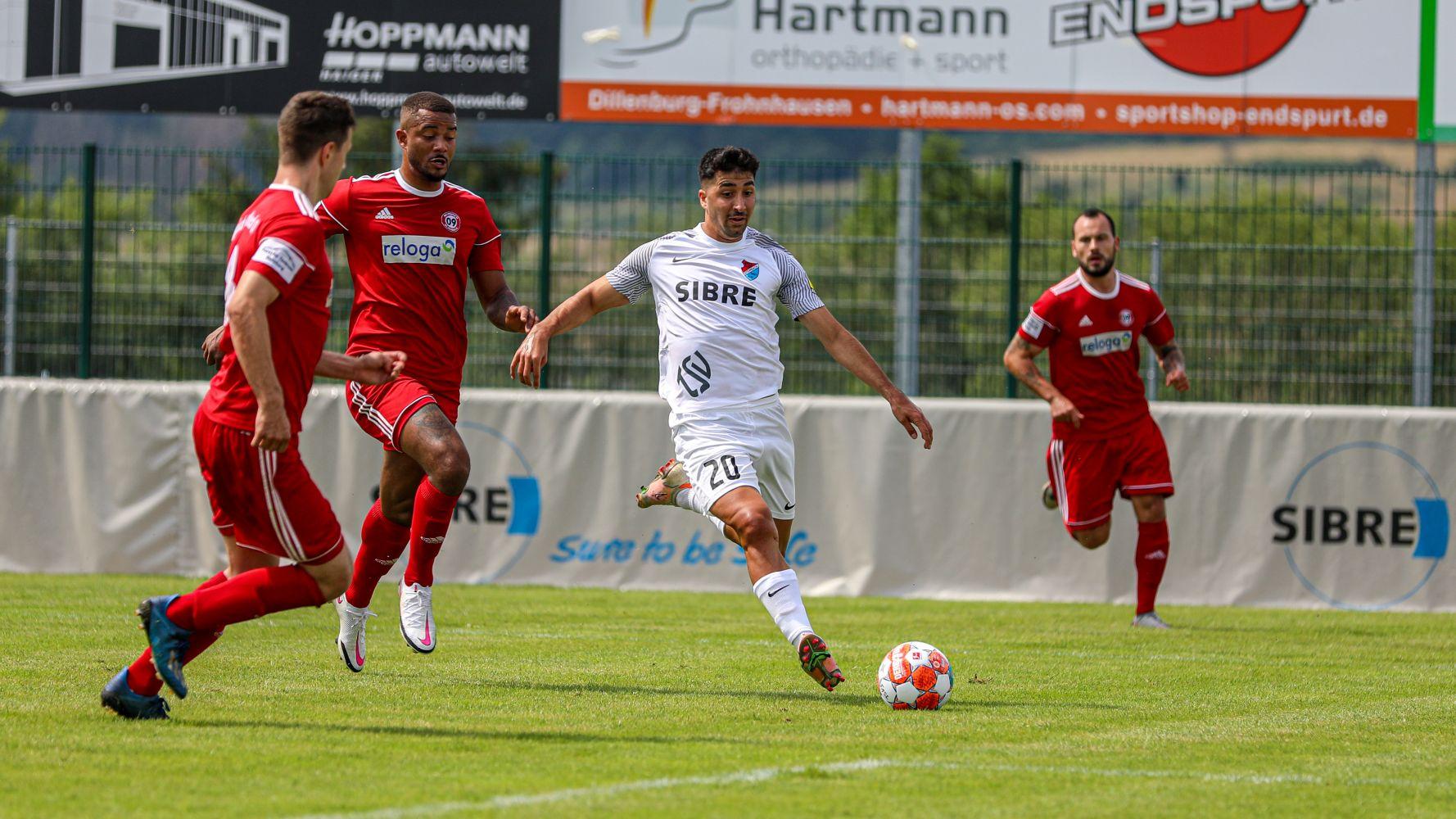 Serhat Ilhan gegen SV Bergisch Gladbach
