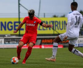 David Al-Azzawe gegen FSV Frankfurt